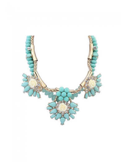 Occident Trendy Fashionable Hyperbolic Necklace
