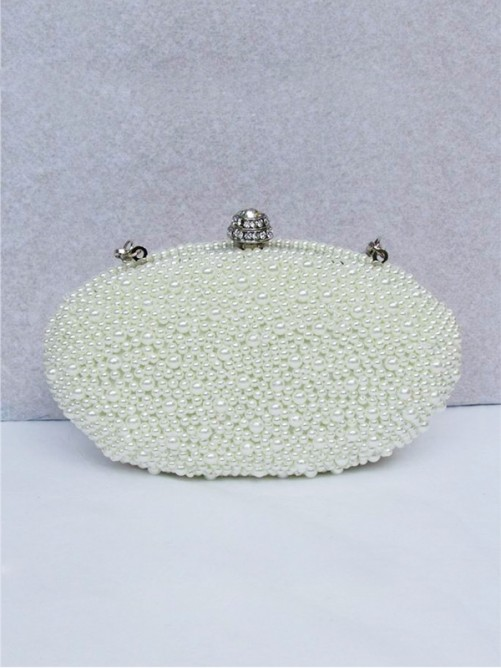 Pearls Evening Handbag(BB00JK003A7)