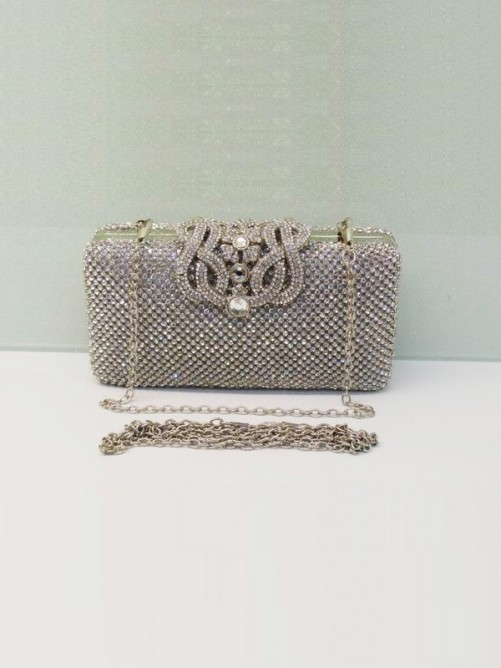 Rhinestones Evening Handbag(BB011423NA7)