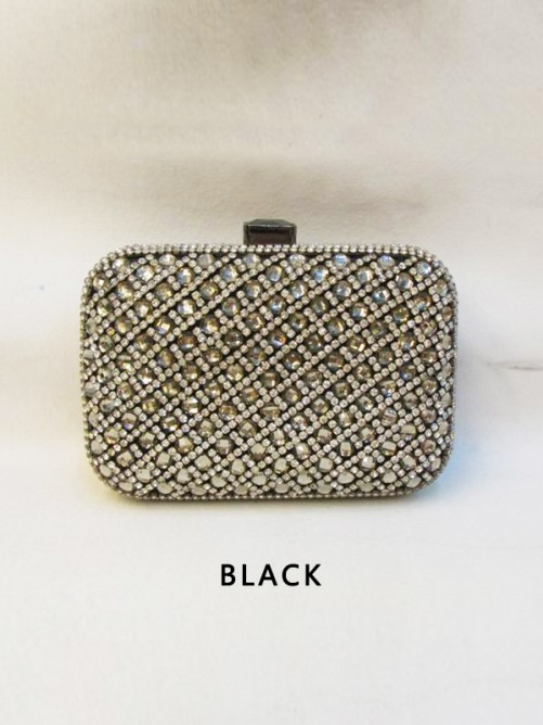 Rhinestones Evening Handbag(BB012009AA7)
