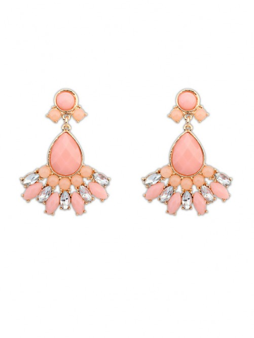 Occident Stylish Sweet Geometry All-match Earrings