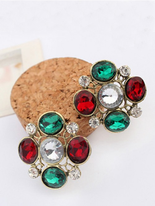 Occident New Stylish Popular Stud Earrings