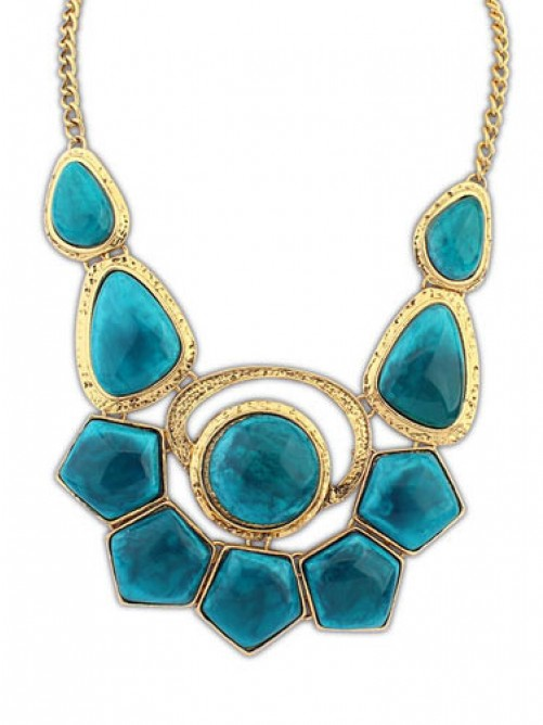 Occident Bohemia Exotic Gemstone Necklace
