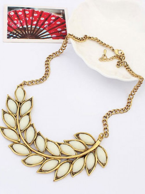 Occident New Bohemia Tree leaf Necklace