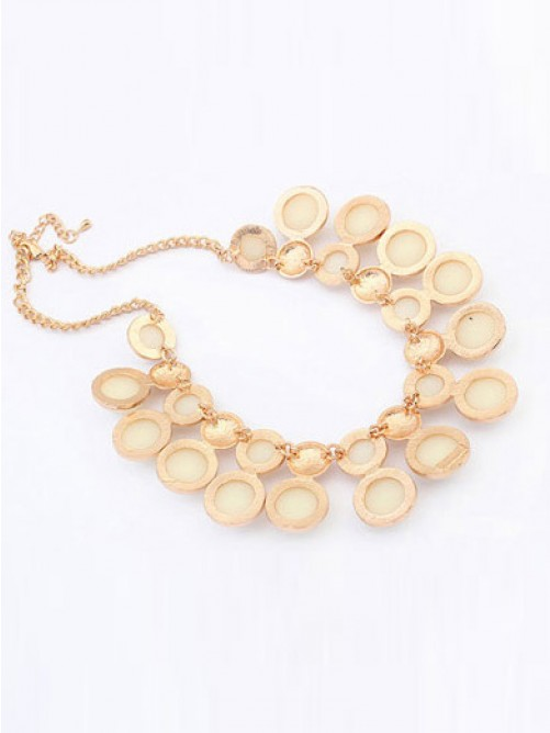 Occident Exquisite all-match Temperament Pearls Necklace