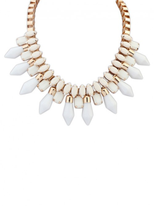Occident Hot Sale Major Suit Magazine Funds Temperament Necklace