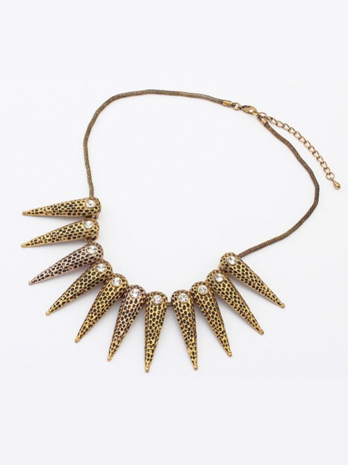 Occident Hyperbolic Exotic Punk Conical Necklace J1109803JR