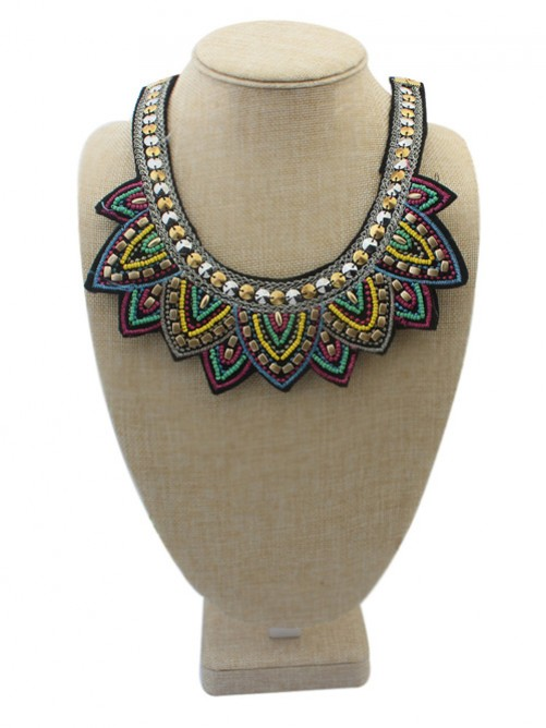 Occident Hyperbolic Ethnic Personality Necklace J1109860JR