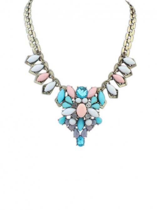Occident Retro Elegant Aristocracy Temperament Necklace J1109882JR