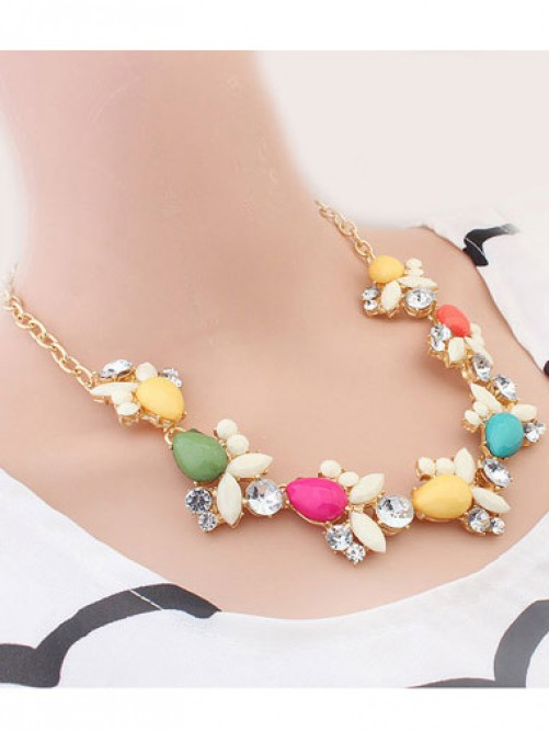 Occident Fresh Style Sweet Necklace