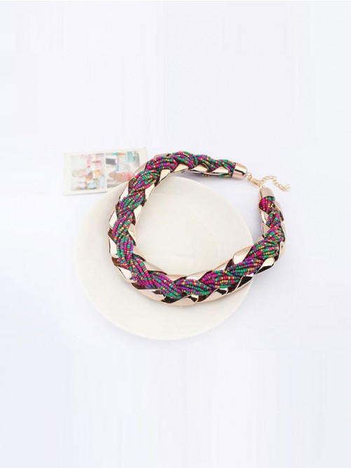 Occident Retro Bohemia Serratula Necklace