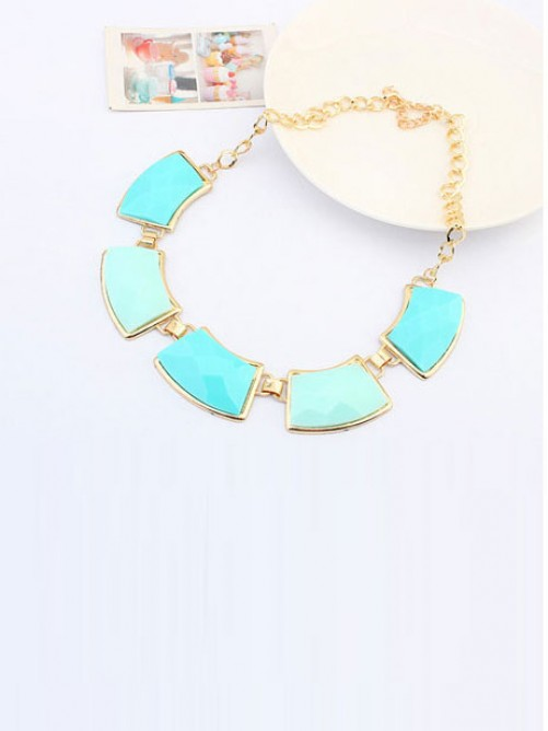 Occident All-match Elegant Geometry Necklace