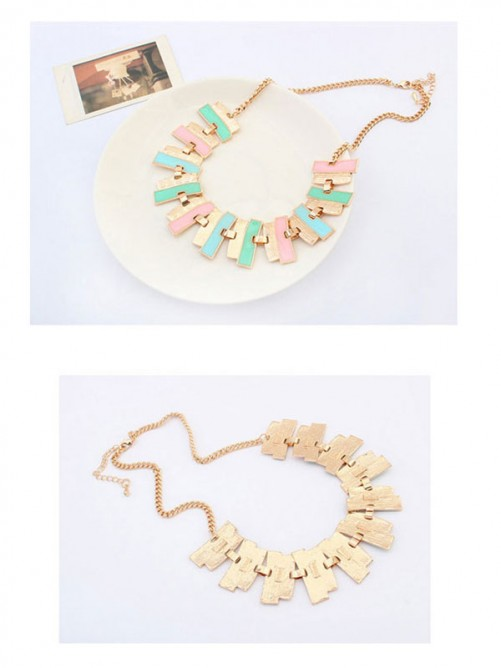 Occident New Fashionable Geometry Simple Necklace