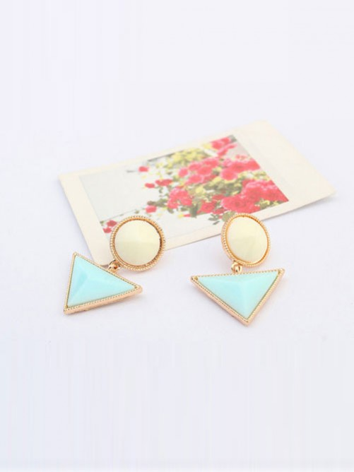 Occident Triangle Fashionable New Stud Earrings