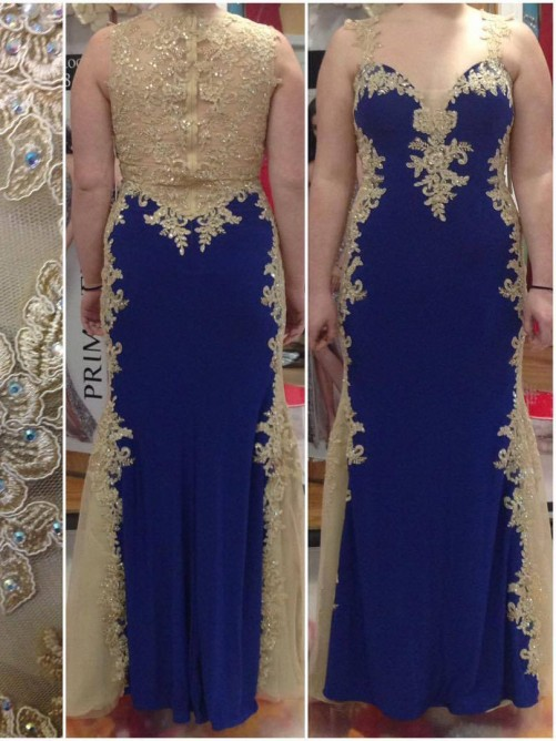 Sheath/Column Straps Sleeveless Applique Floor-Length Elastic Woven Satin Plus Size Dresses