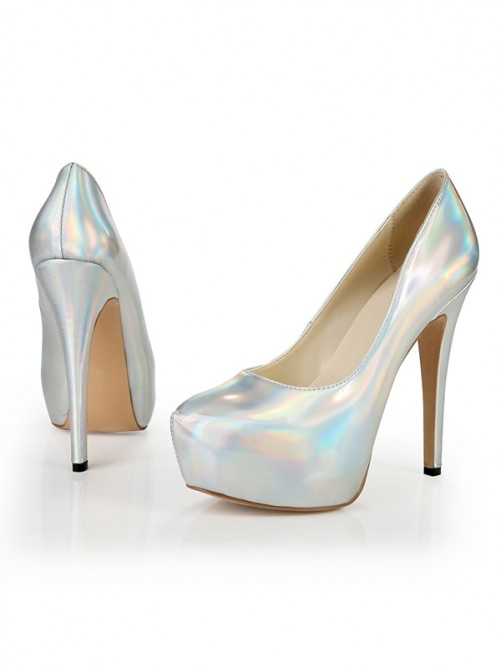 Patent Leather High Heels CA
