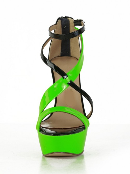 Nice Patent Leather Sandals
