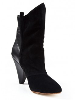 GorgeousPointed Toe Cattlehide Leather Boots