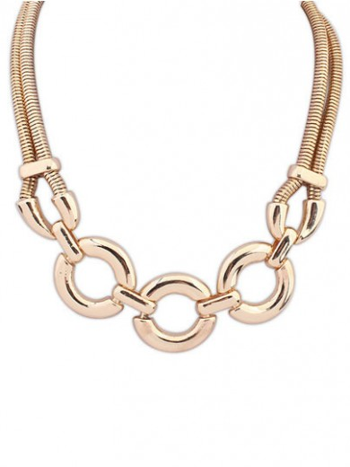 Occident Punk Major suit Street shooting Necklace