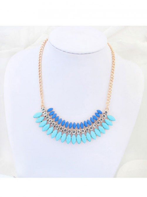 Occident Stylish multi-layered Exquisite all-match Necklace
