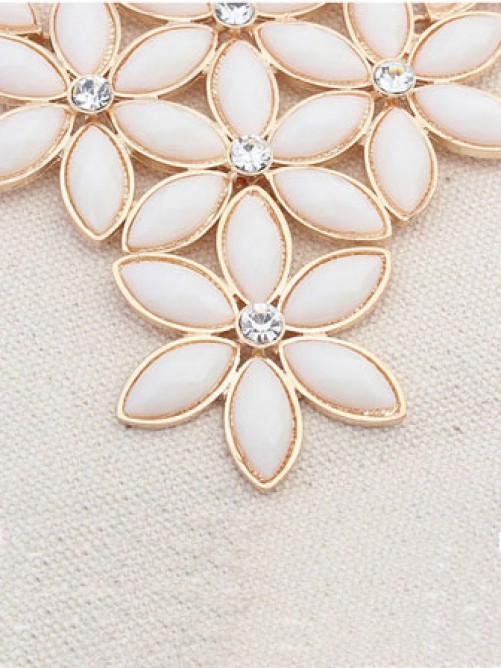 Occident Stylish New Flowers all-match Necklace