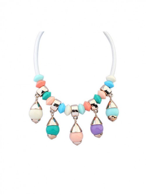 Occident Major Suit Trendy Street Shooting Necklace