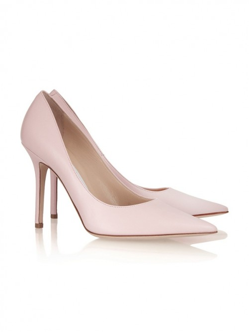 Patent Leather Pointed Toe High Heels CA