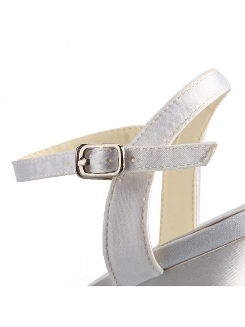 Rubber and Satin Sandals